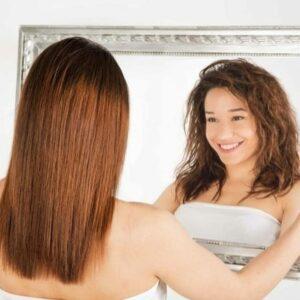Soins cheveux défrisants et lissants