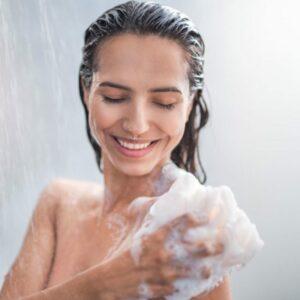 Gels douches et savons liquides peaux sensibles
