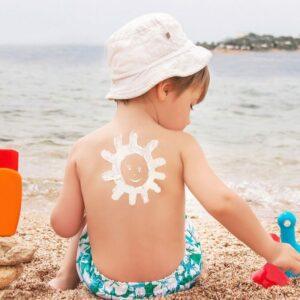 Protections solaires pour enfants