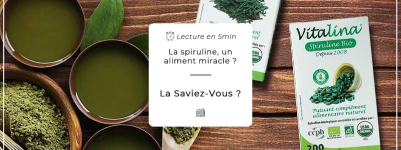 La Spiruline, un aliment Miracle ?