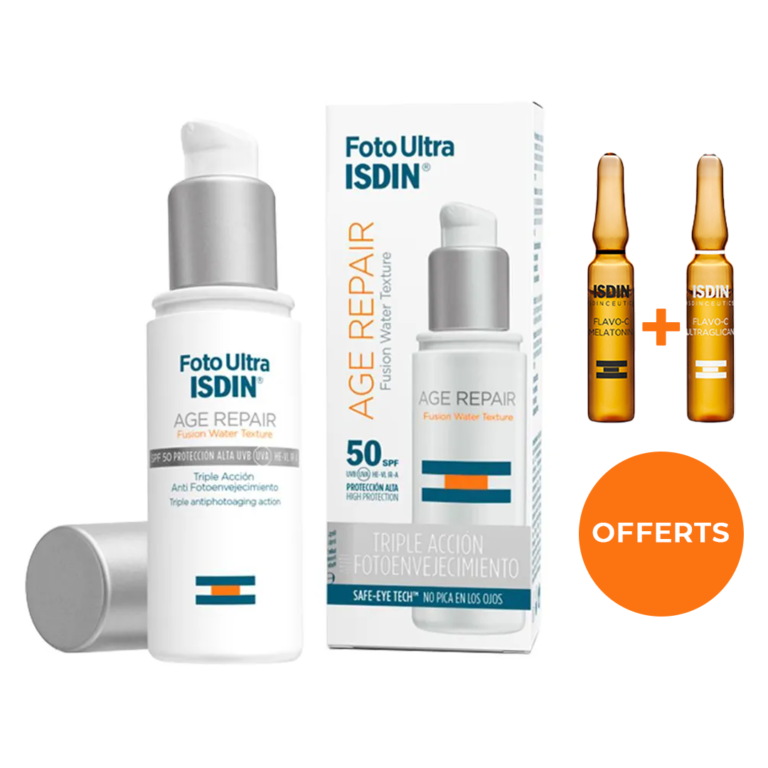 ISDIN FOTOULTRA AGE REPAIR SPF50+ 50ML + AMPOULES ANTI-RIDES