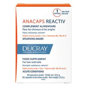 DUCRAY ANACAPS REACTIV 30 CAPSULES