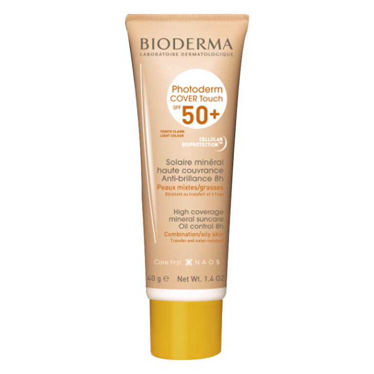BIODERMA PHOTODERM COVER TOUCH MINERAL SPF50+ 40g